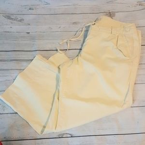 J.Crew Broken In Chino Class Twill Capris 8